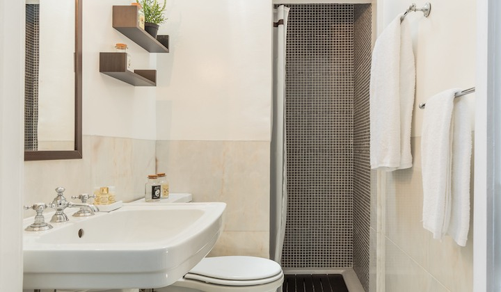 Bathroom with all the amenities you need